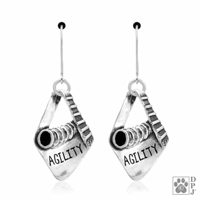 Sterling Silver Agility Earrings