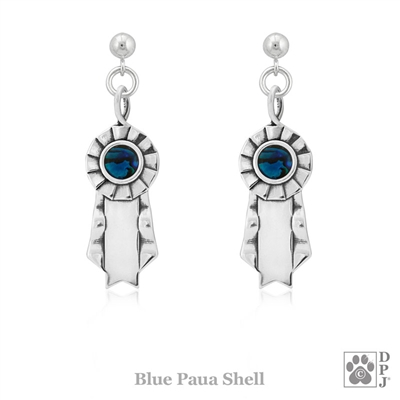 Sterling Silver Victory Paws Earrings