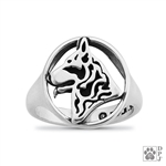 German Shepherd Ring,