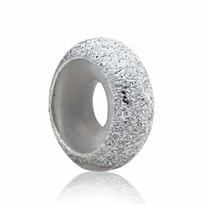 Sterling Silver Star Dust Thin 3mm Bead Stopper