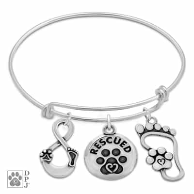 Sterling Silver Our Lives Cross Paths Charm Bracelet