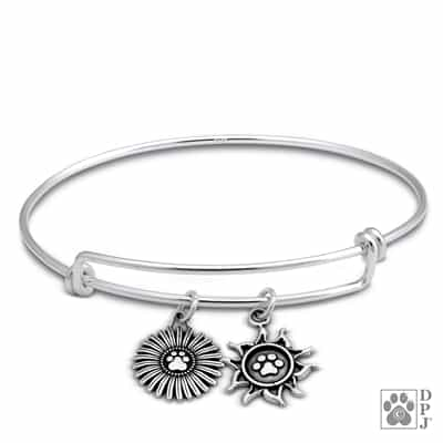 Sterling Silver Adjustable Growing Your Love Bracelet