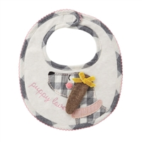 Mud Pie Puppy Love Bib