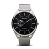 bering automatic men's black dial watch