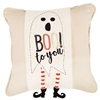 Halloween Sequin Ghost Pillow Wrap