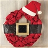 Mud Pie Santa Belt Wreath