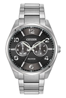 Men's Citizen Eco-Drive Black Dial Dress Watch