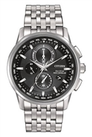 Men's Citizen Eco Drive World Chronograph Atomic Watch