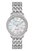 Ladies Citizen Eco Drive Diamond Watch