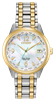 ladies citizen eco drive world time two tone watch