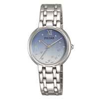ladies pulsar Swarovski crystal watch