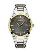 Seiko Core Solar Two Tone Watch