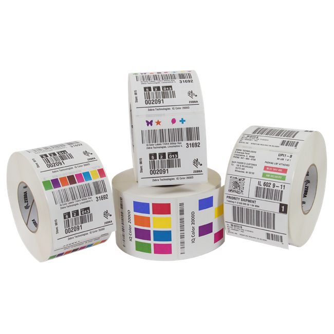 Zebra Paper Label - 10009526