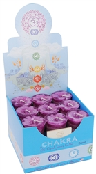 <!080>Chakra Votives Box of 18