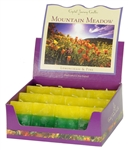 Aromatherapy Two Scented Square Votives - Mountain Meadow - Lime & Lemongrass