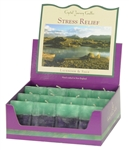 Aromatherapy Two Scented Square Votives - Stress Relief - Lavender & Sage