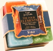 Herbal Gift Set - 4 Elements Candles