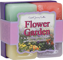 Herbal Gift Set - Flower Garden Candles
