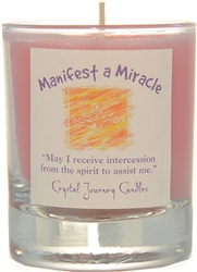 Herbal Magic Filled Votive Holders - Manifest a Miracle