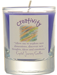 Herbal Magic Filled Votive Holders - Creativity