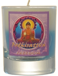 Filled Votive Holders Mandala - Freedom