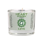 <!041>Chakra - Soy Filled Votive Holder - Heart