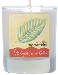 Soy Filled Votive Holders -Peppermint