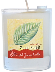 Soy Filled Votive Holders - Green Forest