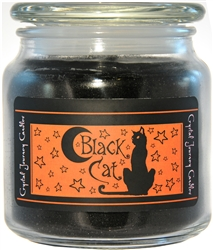 Herbal Jar Candle-Black Cat
