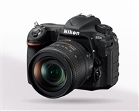 Nikon D500 DSLR with 16-80mm ED VR Lens