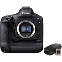 Canon EOS-1D X Mk III (Body Only) Kit with Card & Reader