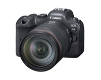 Canon EOS R6 20MP Mirrorless DSLR with 24-105mm f/4L Lens