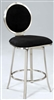Upholsteed Round Back Memory Return Stool