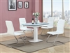 5 PIECE Grace table with four Janet chairs