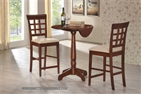 3 Piece counter height set