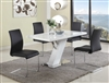 5 PIECE LINDEN SET WITH FOUR JANE CHAIRS