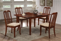 "36"" X 48"" Solid wood Table opens to 60"" Cherry finish"