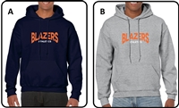 Blazers Athletics Adult Hooded Sweatshirt