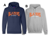 Blazers Athletics Adult Fleece Hood