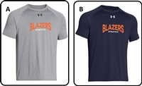 Blazers Athletics Youth UA Locker Tee