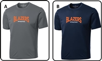 Blazers Athletics Adult Pro Team Short Sleeve Tee