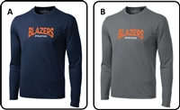 Blazers Athletics Adult Pro Team Long Sleeve Tee