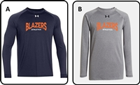 Blazers Athletics Youth UA Longsleeve Tee