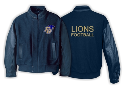 Fort Garry Lions Melton Leather
