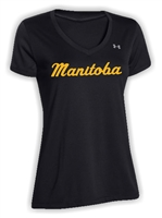Team Manitoba UA Womens V Neck