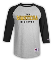Team Manitoba Baseball Tee