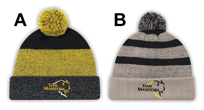 Team Manitoba PomPom Toque
