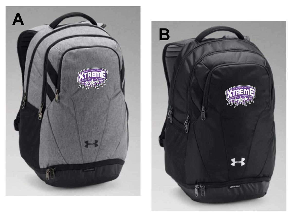 MHD Apparel UA Hustle Backpack aa27ffe2b8b59