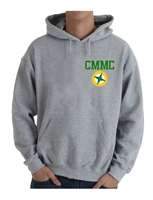 Miles Mac Compass Embroidered Hooded Sweatshirt