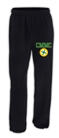 Miles Mac Compass Embroidered Sweatpants